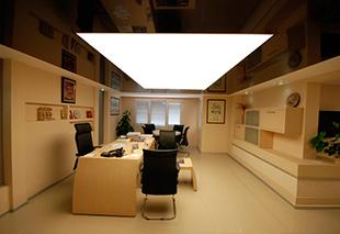 Натяжные потолки в офис